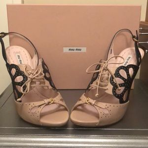Miu Miu Lace-up